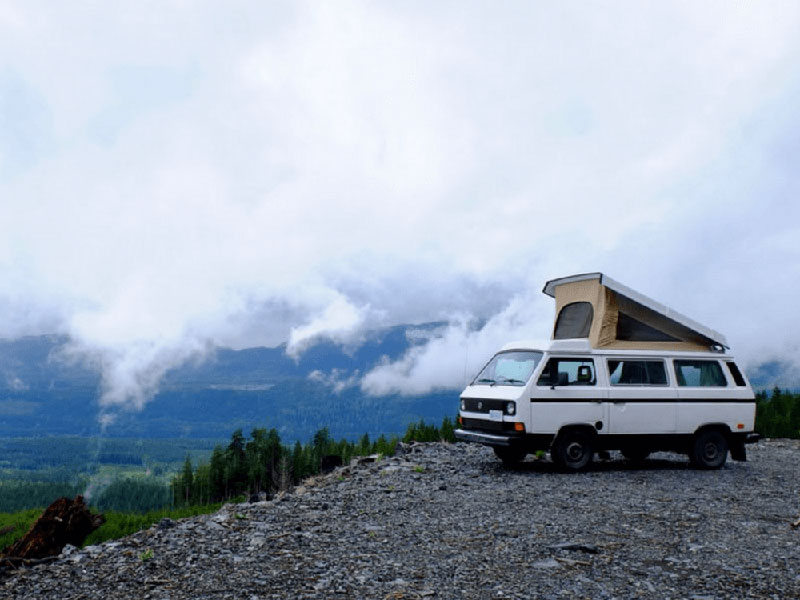 Rental Westfalia in Canada